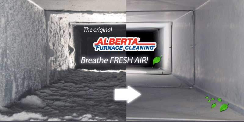 Alberta Furnace Cleaning Before and After